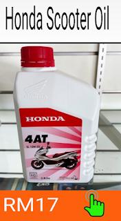 Gambar minyak pelincir scooter honda