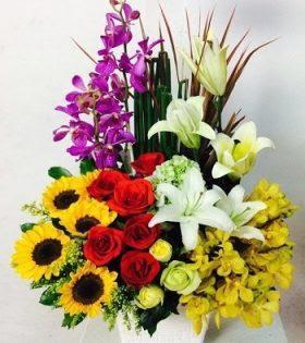 chon hoa tang sinh nhat