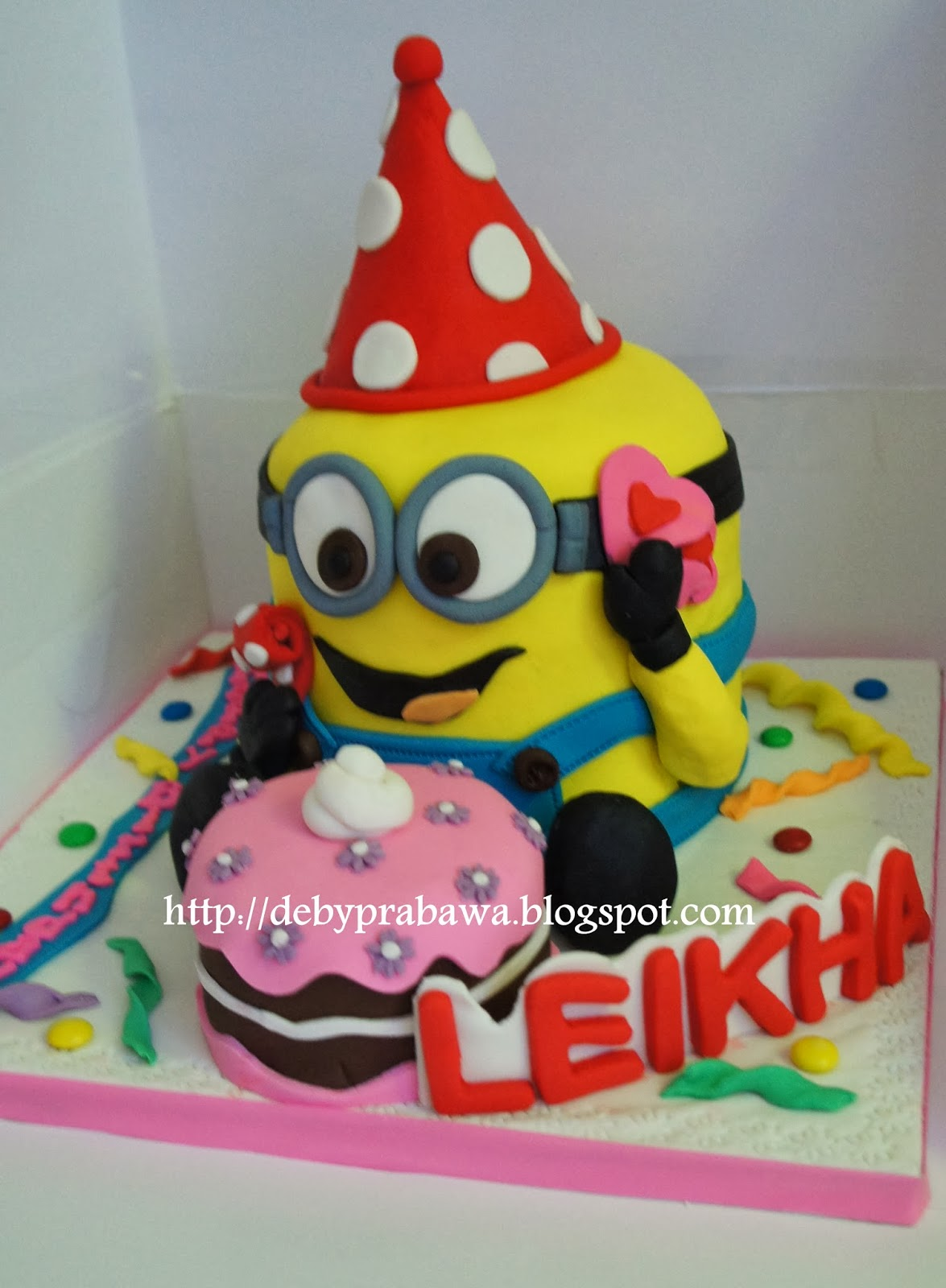 Butterfly Cake 3d Minion Cake For Leikha