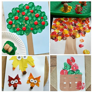 25+ FALL CRAFTS FOR KIDS. These are adorable!  #fallcraftsforkids #autumncraftskids #growingajeweledrose #fallcraftskids #kidsfallcrafts