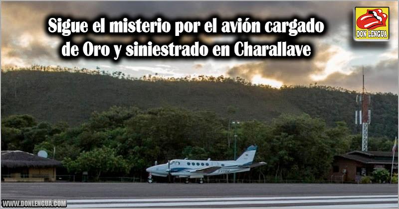 Sigue el misterio por el avión cargado de Oro y siniestrado en Charallave
