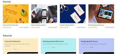 Canva design school belajar online desain gratis