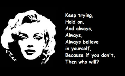"""Marilyn Monroe Quotes: Keep Trying"""