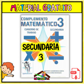 Cuaderno de trabajo Matemáticas 3 secundaria PDF