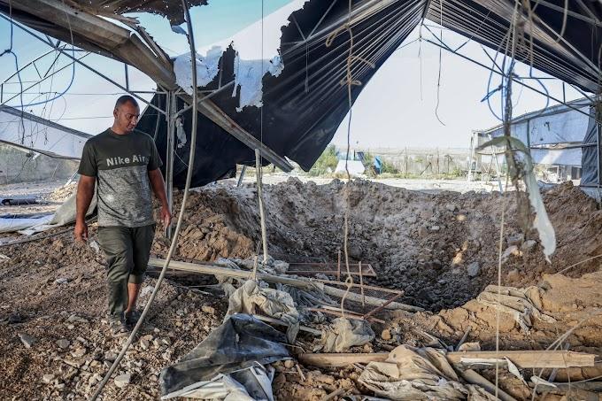 Izrael légicsapásokat hajtott végre a Gázai övezetben