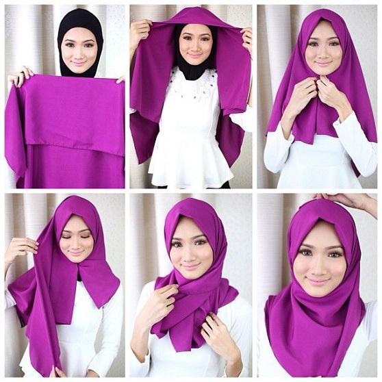 cara memakai jilbab paris segi empat polos, cara memakai kerudung paris, cara memakai jilbab paris, kerudung paris, jilbab paris, cara memakai kerudung simpel, cara memakai jilbab paris, cara memakai jilbab paris polos, kreasi jilbab paris,