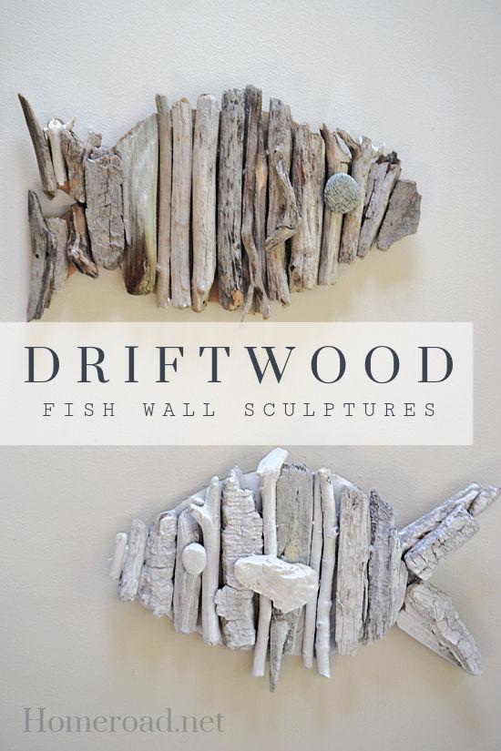 driftwood fish pin