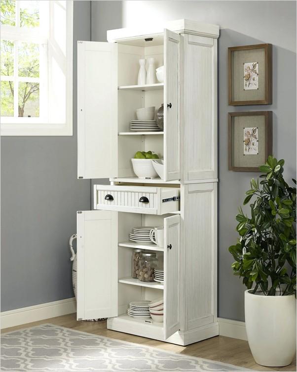 Free Standing Kitchen Pantry Cabinet Home Interior Exterior Decor Design Ideas