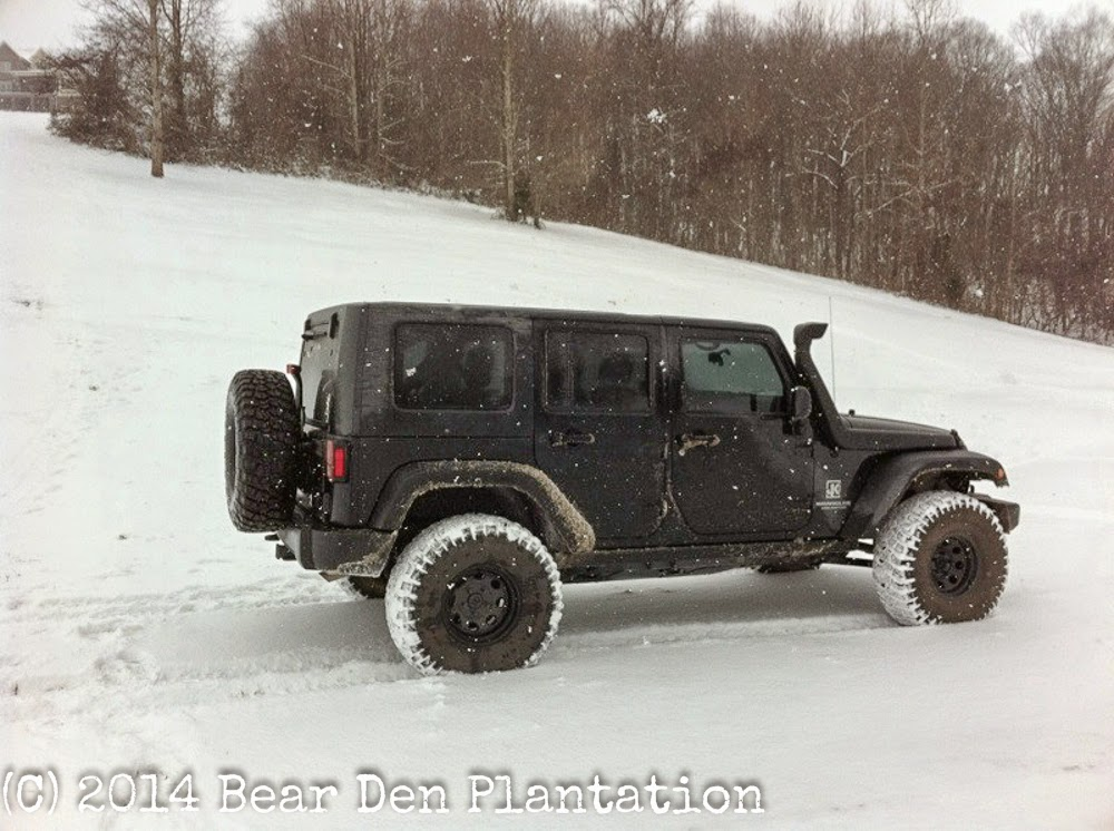 2009 Jeep Rubicon 4 door with lift kit and snorkel from Bear Den Plantation