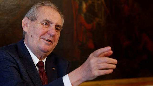 Czech strife over eliminating sickly President Zeman's forces