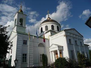 Изюм. Крестовоздвиженская церковь. 1821 г.