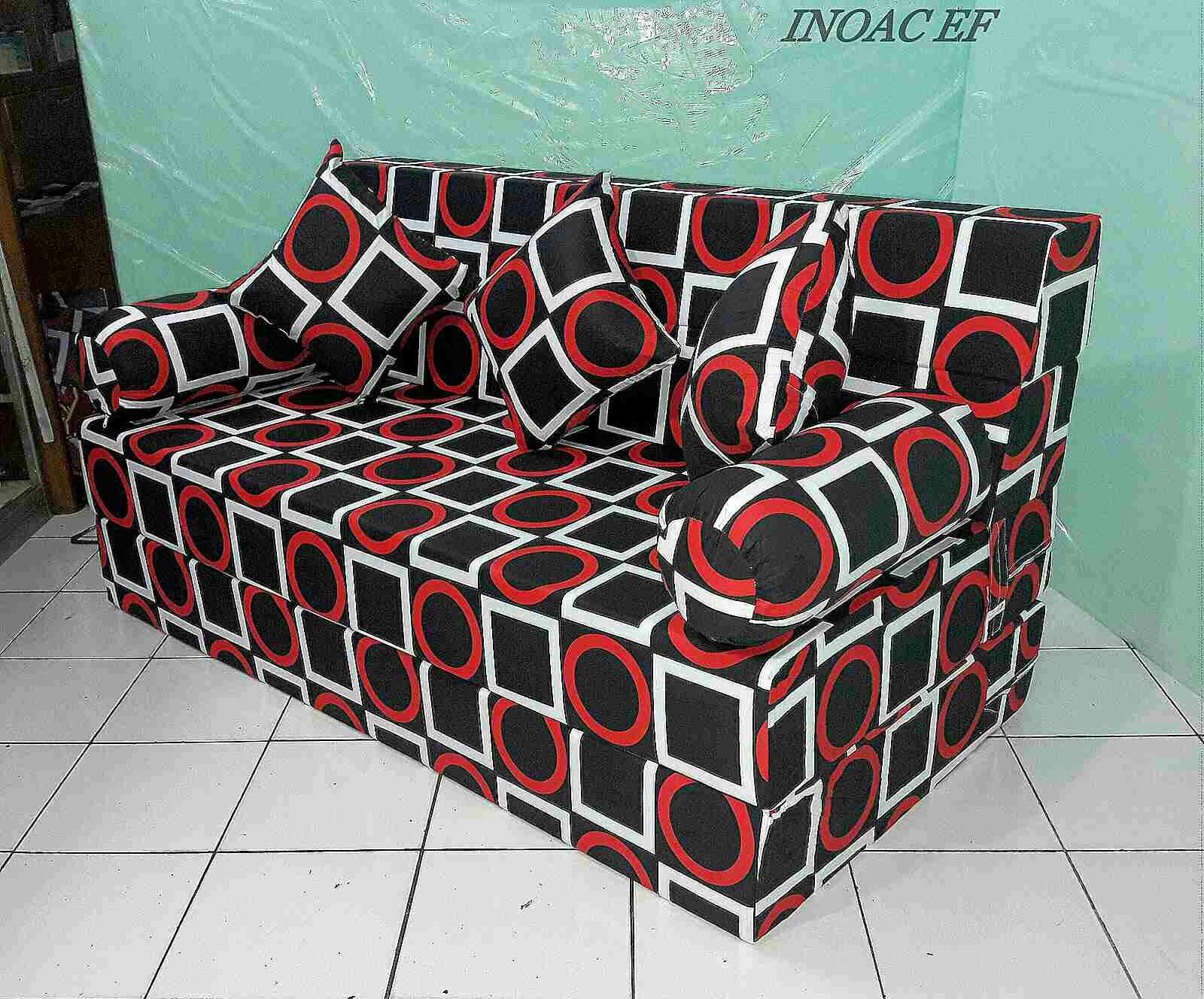harga sofa bed inoac 2017 mint green sectional full motif agen resmi kasur busa