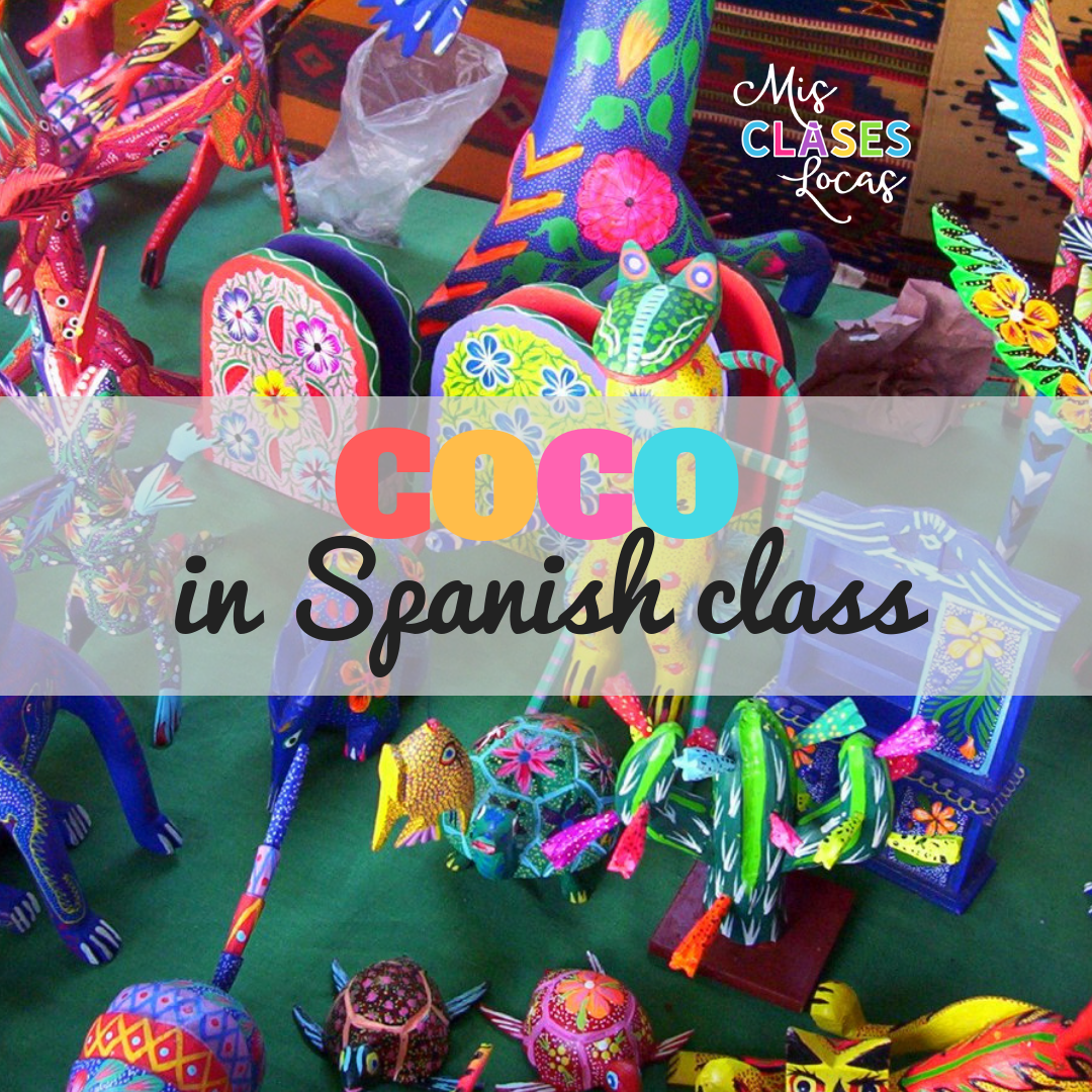 Coco in Spanish Class - shared by Mis Clases Locas