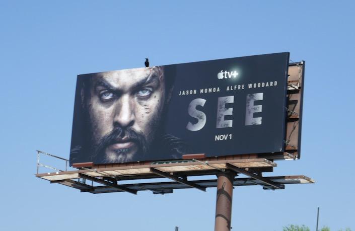 See Apple TV+ series launch billboard