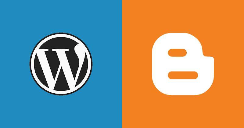 Comparação Blogger versus Wordpress: qual o melhor? - Responsive Blogger Template