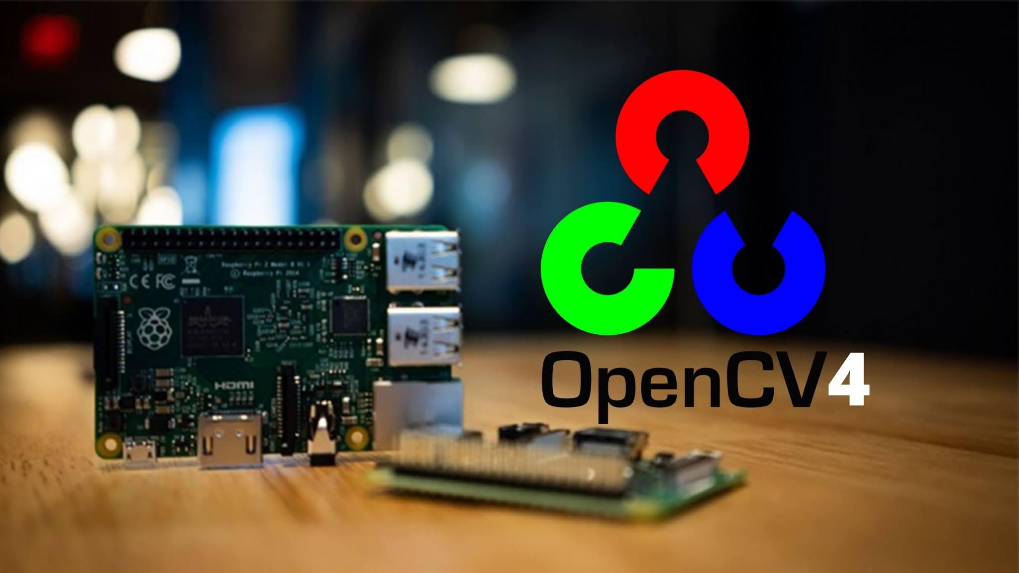 Install OpenCV4 on Raspberry pi 4