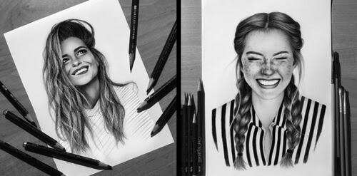 00-Portrait-Drawings-Kristina-Branisheuskaya-www-designstack-co