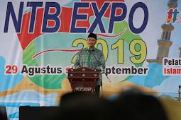Gubernur Buka Kegiatan NTB Expo 2019 Promosi UMKM  Daerah