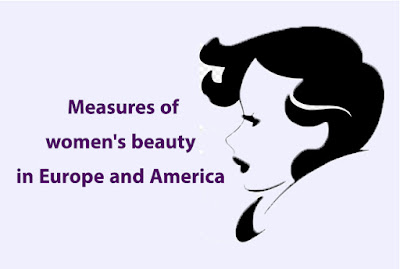 Measures of women's beauty in Europe and America