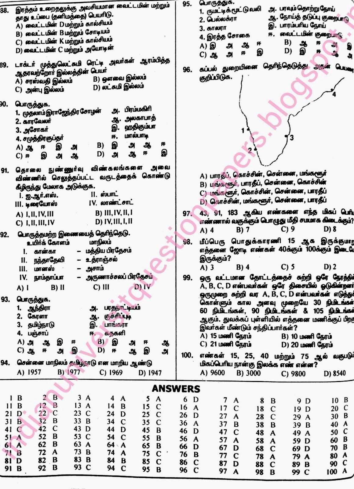 University Question Papers: May 2014