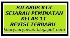 File Pendidikan Silabus k13 Sejarah Peminatan Kelas XI Revisi Terbaru