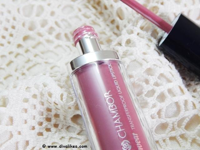 Chambor Extreme Wear Transferproof Liquid Lipstick 402
