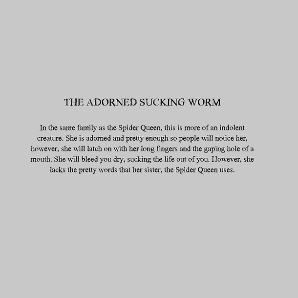 Personal Monsters - The Adorned Sucking Worm