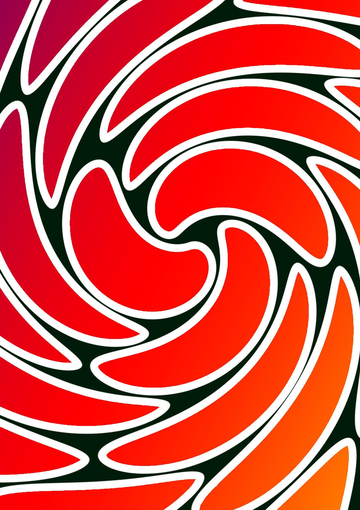 Flowara twril gradient stok white