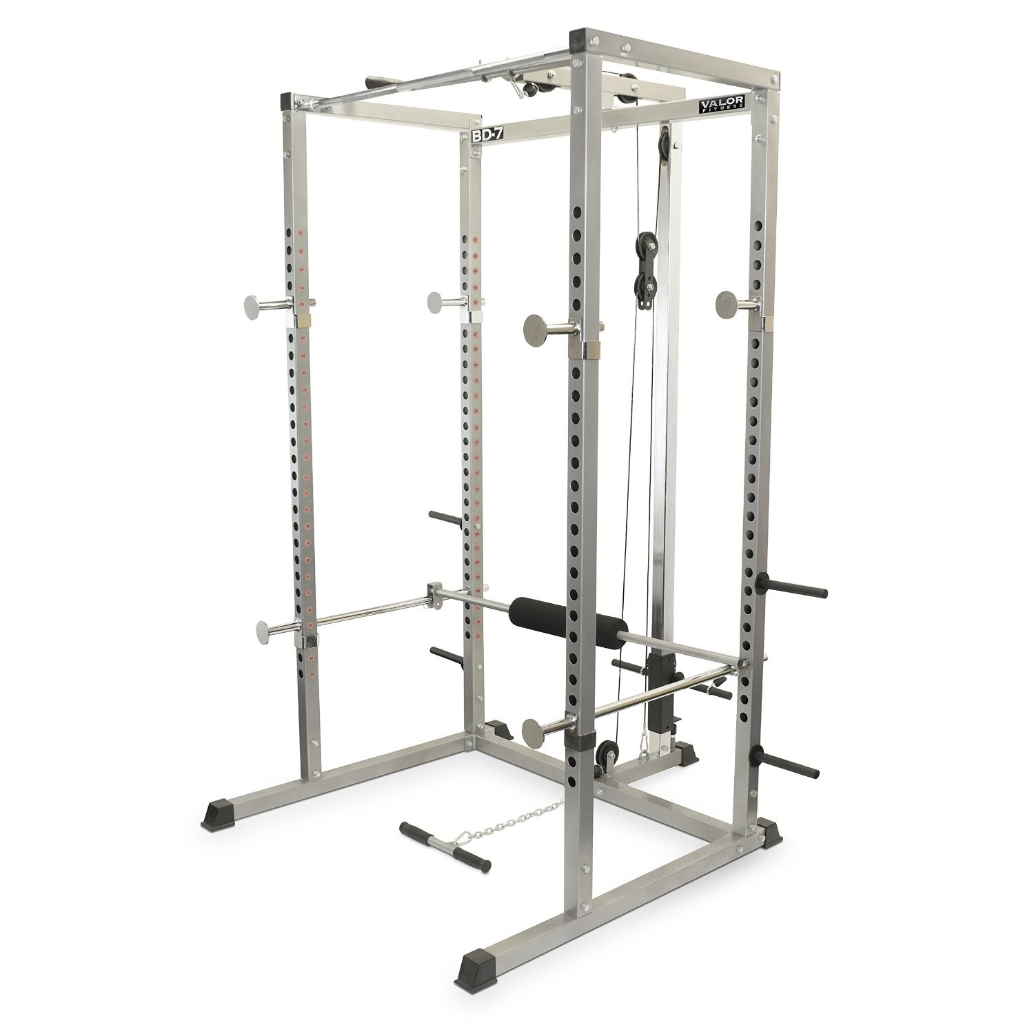 Health and fitness den valor fitness bd 7 power rack with for A squat rack