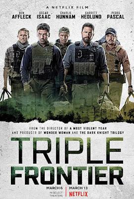 Poster Triple Frontier 2019 Dual Audio HD 720p