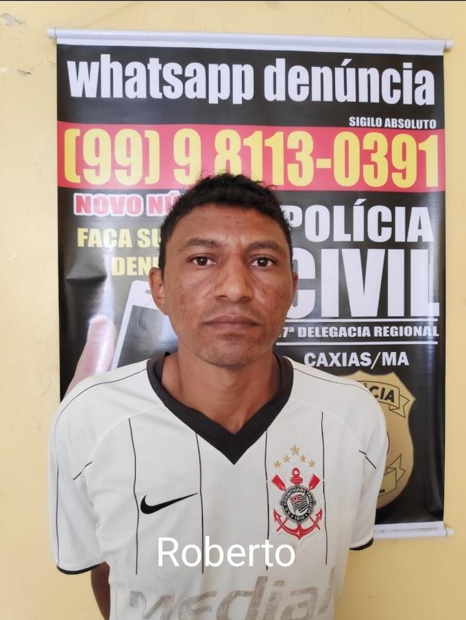 Em Coeho Neto Del. Reg. de Caxias e Cia prendem pai suspeito de estuprar a própria filha em Goiás
