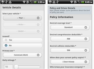 A+ Car Insurance App - How To Easily Compare Car Insurance Quotes on Your Smartphone