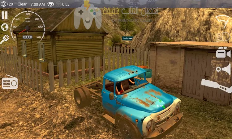 تحميل لعبة قيادة السيارات Russian Car Driver HD للكمبيوتر