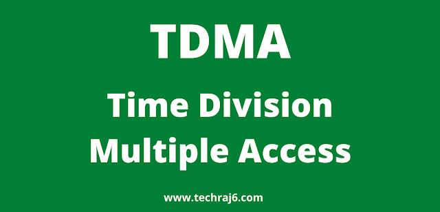 TDMA full form, What is the full form of TDMA