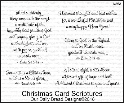 Christmas Card Scriptures
