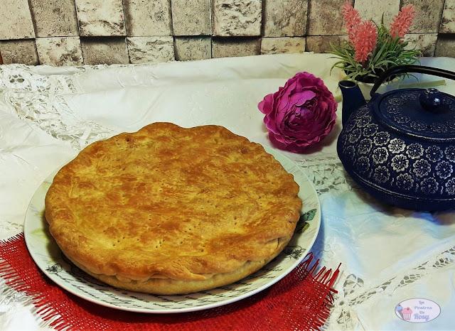 pastel de melocotón sin lactosa sin glúten sin azúcar