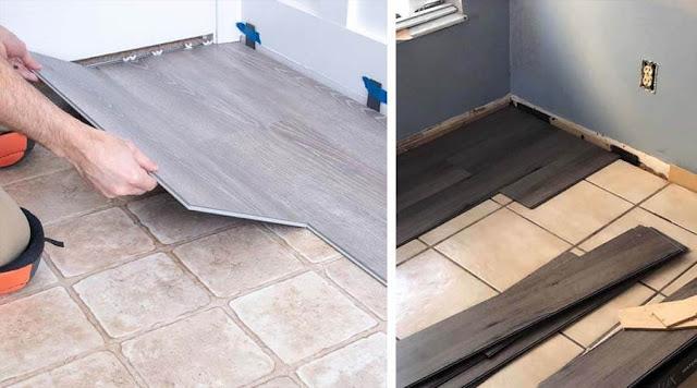 Harga Laminated Flooring jual