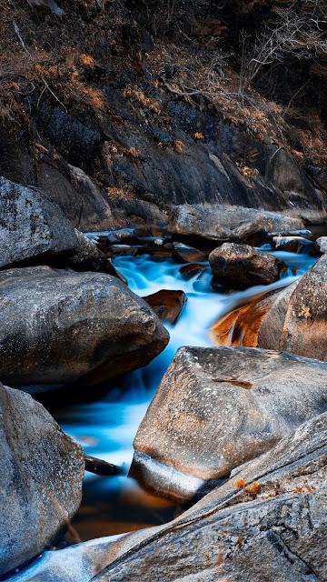 Pedras, Água, Rocha, Fluxo, Natureza