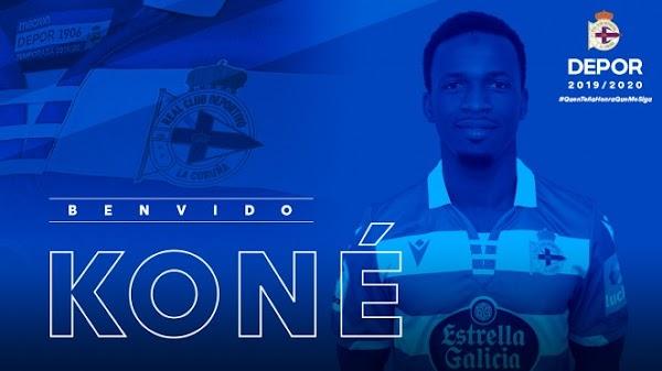 Oficial: Mamadou Koné sale cedido al Deportivo