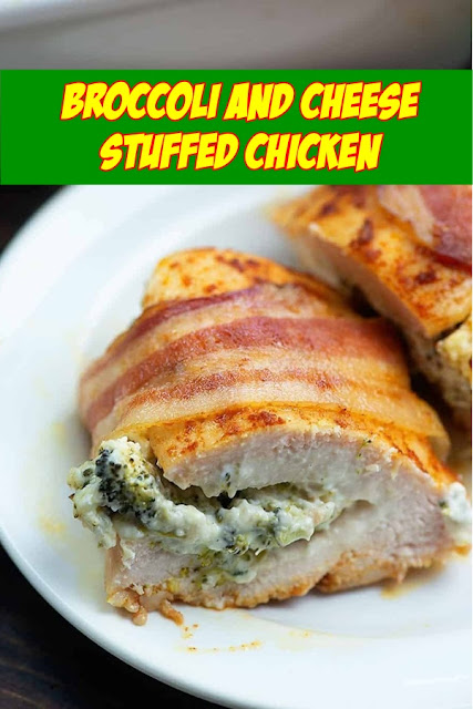 #BROCCOLI #AND #CHEESE #STUFFED #CHICKEN