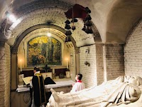 Crypt of Westminster Cathedral in London