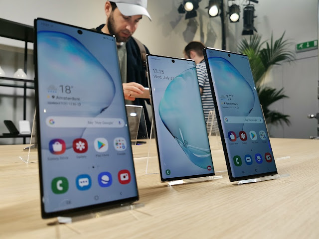 سعر ومواصفات هاتف Galaxy Note 10 الجديد !