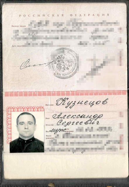 O comandante Alexander Kuznetsov foi ferido e descoberto na Líbia.