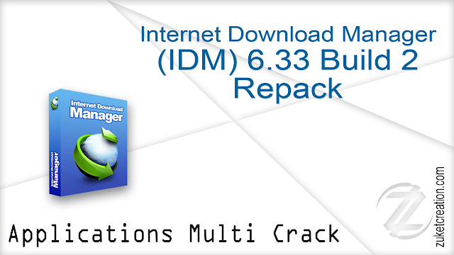 Internet Download Manager 6.33 Build 2 Repack   |  6.23 MB