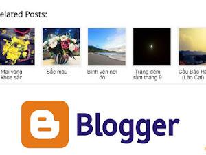 Tạo bài viết liên quan (Related Posts) theo hàng ngang cho Blogpsot