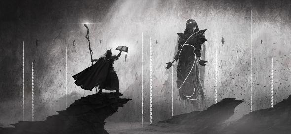 Nino Is artstation deviantart arte ilustrações fantasia sombria terror lovecraft