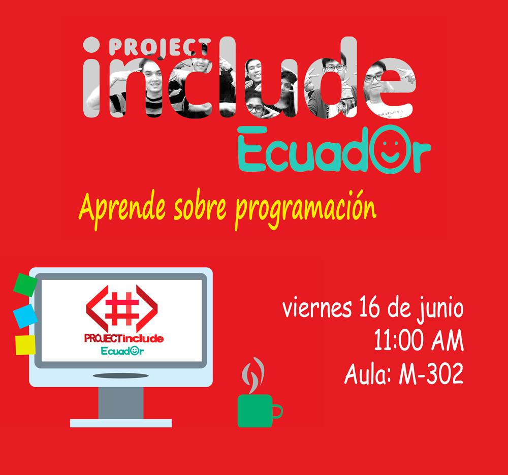 Project Include Ecuador | Aprende sobre programación