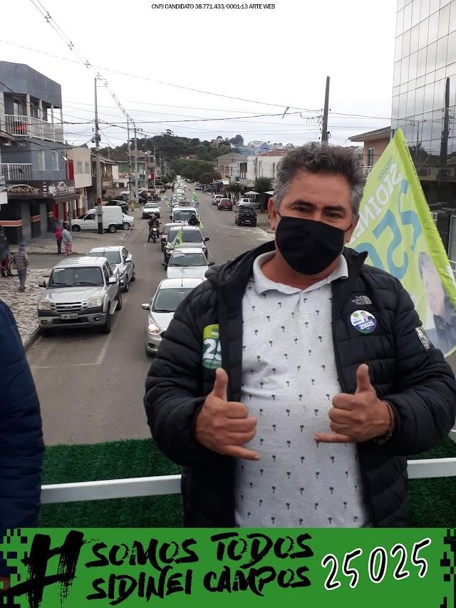 Vereador Sidnei Campos de Colombo tem mandato caçado pela justiça