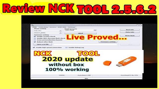 NCK Dongle 2.5.6.2  Android MTK (Setup) Download 2020