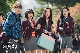ju kyung dan teman-teman sekelasnya